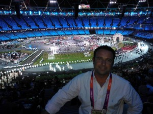 London Olympics open ceremony